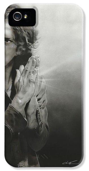 Eddie Vedder - ' Vedder Iv ' IPhone 5 / 5s Case by Christian Chapman Art
