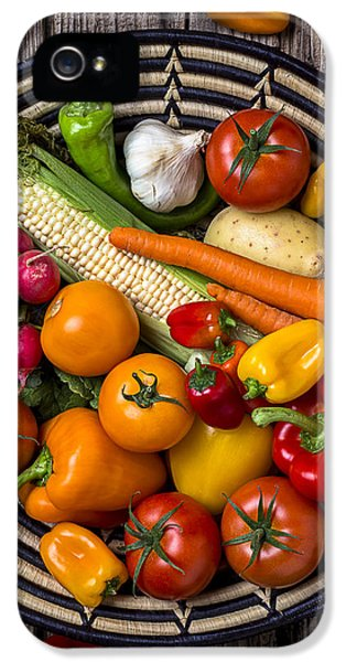 Vegetable Basket    IPhone 5 Case by Garry Gay