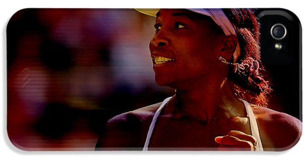 Venus Williams IPhone 5 Case by Marvin Blaine