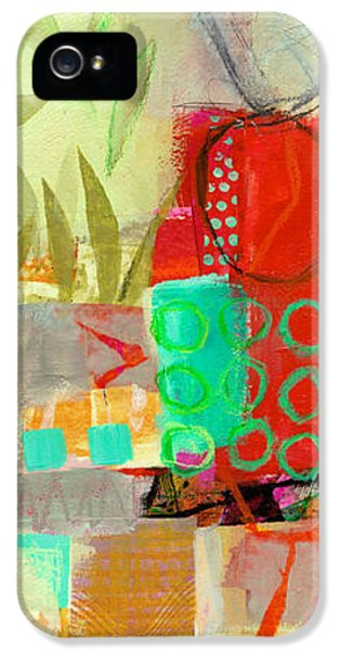 Vertical 5 IPhone 5 Case by Jane Davies