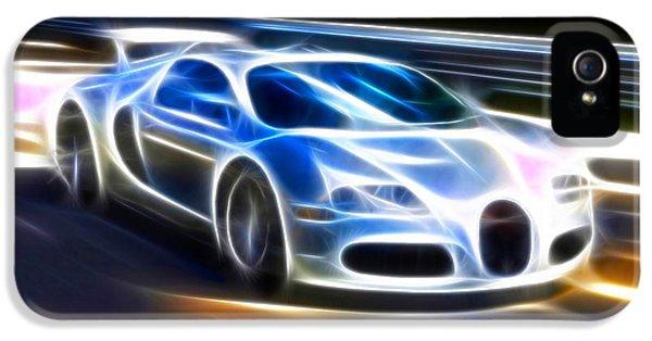 Veyron - Bugatti IPhone 5 Case by Pamela Johnson