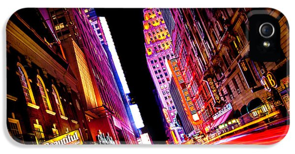 Vibrant New York City IPhone 5 Case by Az Jackson