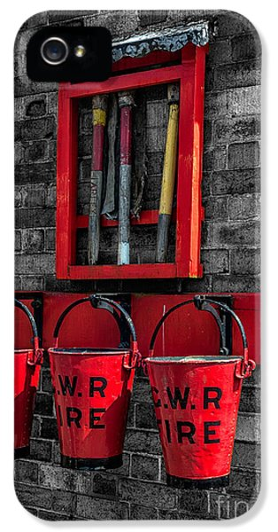 Victorian Fire Buckets IPhone 5 Case by Adrian Evans