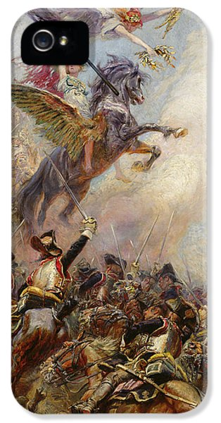 Victory IPhone 5 Case by Jean-Baptiste Edouard Detaille