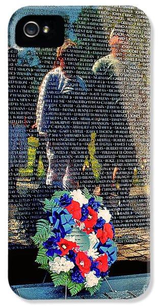 Vietnam Memorial Wall IPhone 5 Case