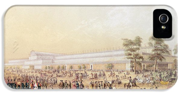 View Of The Crystal Palace IPhone 5 Case by George Baxter