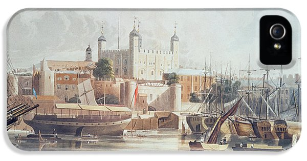 View Of The Tower Of London IPhone 5 Case by John Gendall