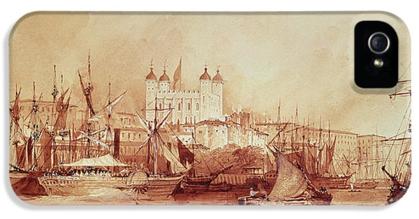 View Of The Tower Of London IPhone 5 Case by William Parrott
