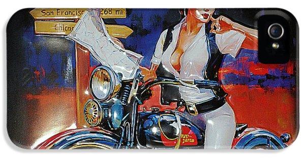 Vintage Harley Davidson Ad IPhone 5 Case