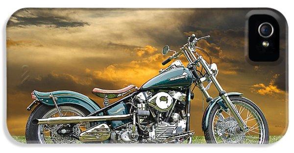Vintage Harley Knuckle Head IPhone 5 Case