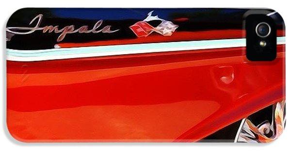 Classic iPhone 5 Case - Vintage Impala by Heidi Hermes