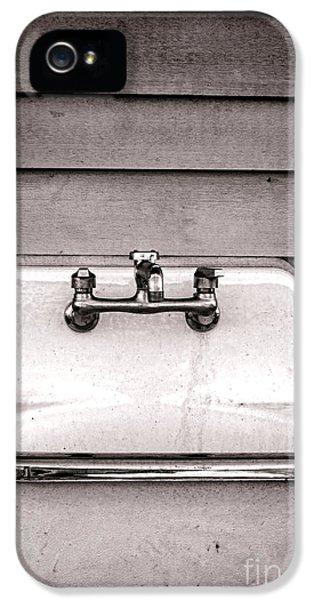Vintage Sink IPhone 5 Case by Olivier Le Queinec