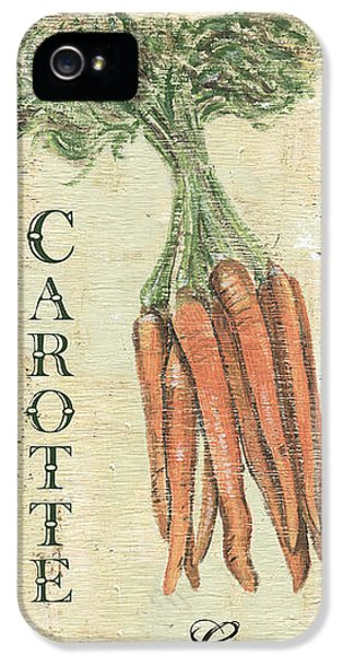 Vintage Vegetables 4 IPhone 5 Case by Debbie DeWitt