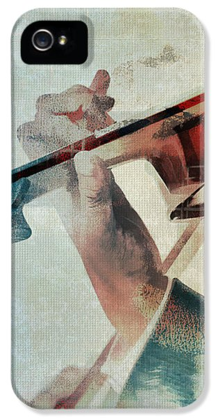 Violin iPhone 5 Case - Violinist by David Ridley