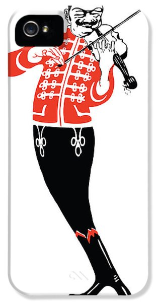 Violinist IPhone 5 / 5s Case by Gary Grayson