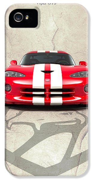 Viper Gts IPhone 5 Case by Mark Rogan