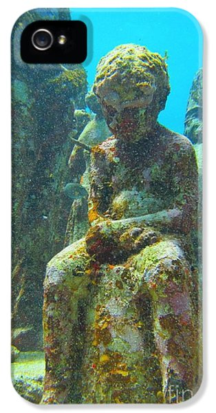 Waiting Patiently For The Coral To Grow Up IPhone 5 Case