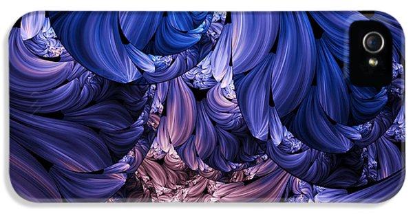Walk Through The Petals Abstract IPhone 5 Case by Georgiana Romanovna