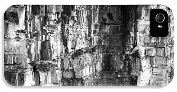 IPhone 5 Case featuring the photograph Wall Of Rock by Miroslava Jurcik