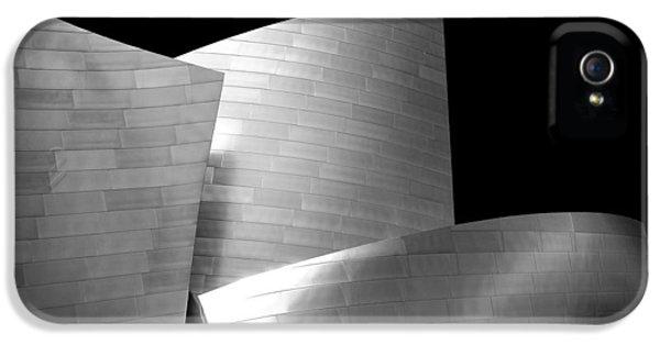 Walt Disney Concert Hall 1 IPhone 5 Case by Az Jackson