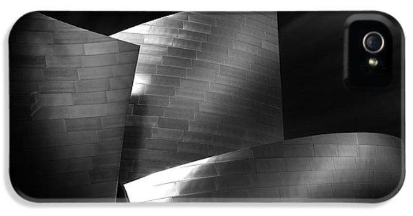 Walt Disney Concert Hall 3 IPhone 5 Case by Az Jackson