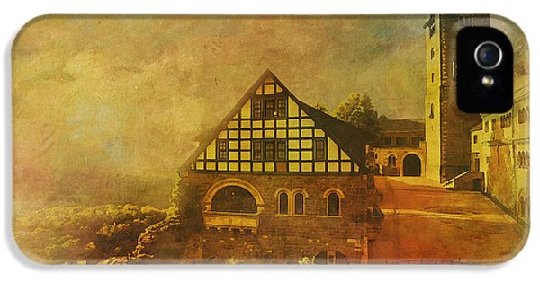 Wartburg Castle IPhone 5 Case by Catf