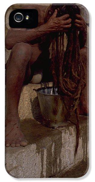 Varanasi Hair Wash IPhone 5 Case