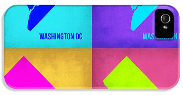 Washington Dc Pop Art Map 1 IPhone 5 Case