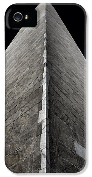 Washington Monument iPhone 5 Case - Washington Monument by Marianna Mills