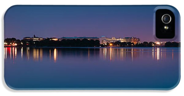 IPhone 5 Case featuring the photograph Washington Skyline by Sebastian Musial