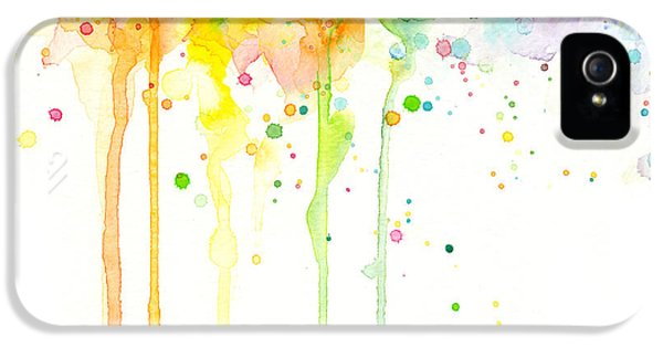 Watercolor Rainbow IPhone 5 Case