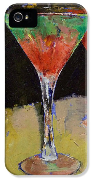 Watermelon Martini IPhone 5 Case by Michael Creese