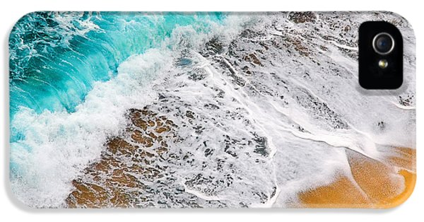 Waves Abstract IPhone 5 Case by Silvia Ganora