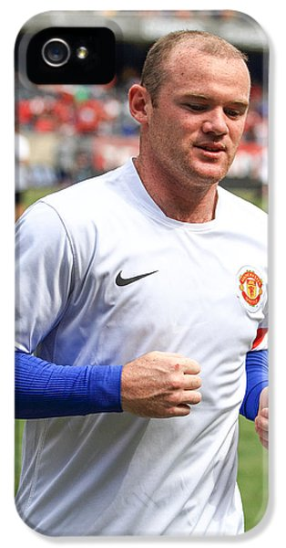 Wayne Rooney 5 IPhone 5 / 5s Case by Keith R Crowley