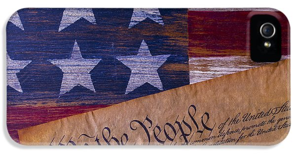 We The People IPhone 5 Case by Garry Gay
