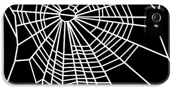 Toxicity iPhone 5 Case - Web Of Spider Exposed To Marijuana by Nasa/science Photo Library