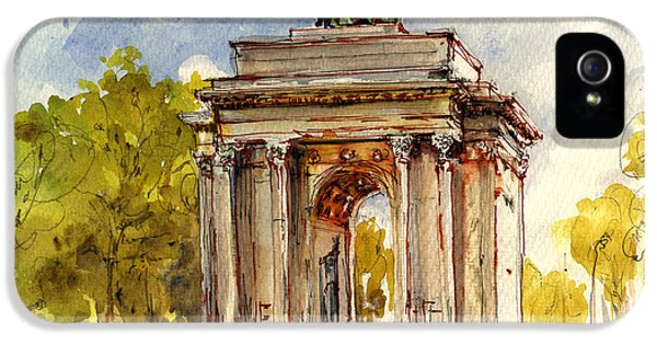 Wellington Arch IPhone 5 / 5s Case by Juan  Bosco