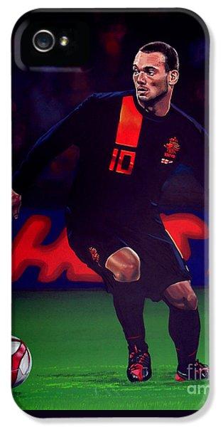 Wesley Sneijder  IPhone 5 Case