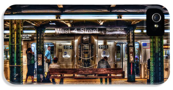 West 4th Street Subway IPhone 5 Case