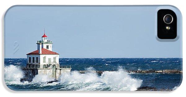 West Pierhead Lighthouse IPhone 5 Case by Everet Regal