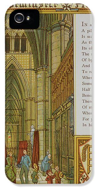 Westminster Abbey IPhone 5 Case by British Library