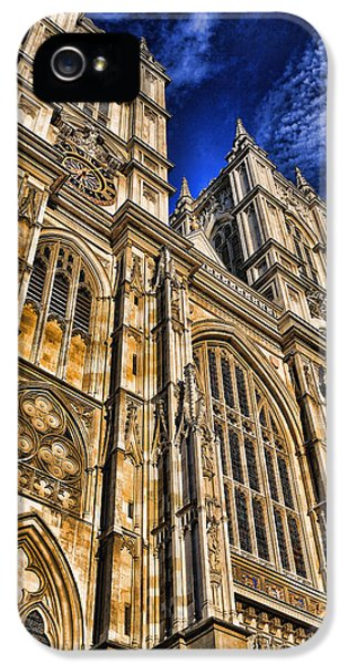 Westminster Abbey iPhone 5 Case - Westminster Abbey West Front by Stephen Stookey