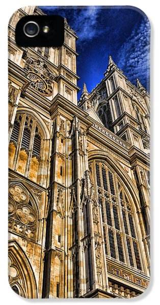 Westminster Abbey West Front IPhone 5 Case by Stephen Stookey