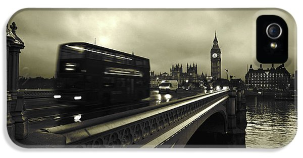 London iPhone 5 Case - Westminster Bridge by Scott Lanphere