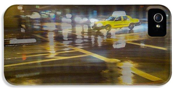 IPhone 5 Case featuring the photograph Wet Pavement by Alex Lapidus