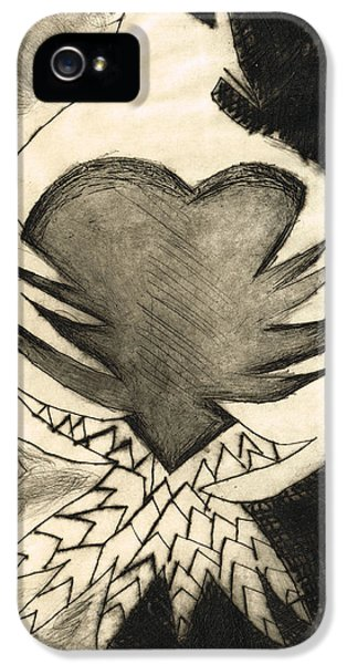 White Dove Art - Comfort - By Sharon Cummings IPhone 5 Case