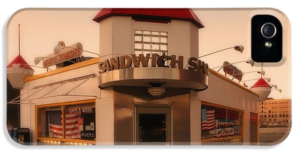 White Knight Sandwich Shop IPhone 5 Case