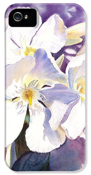 White Oleander IPhone 5 / 5s Case by Irina Sztukowski