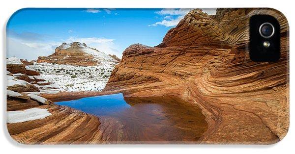White Pocket Utah 2 IPhone 5 Case