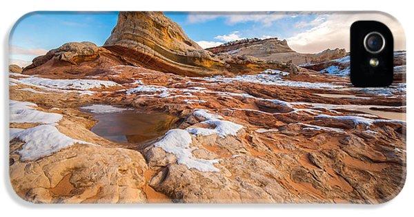 White Pocket Utah 3 IPhone 5 Case